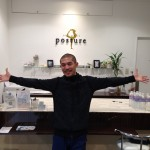Yogastudio posture 1st anniversary event