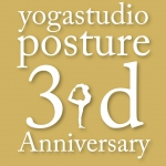 ☆☆☆11/5(土)yogastudio posture 3周年記念イベント開催☆☆☆